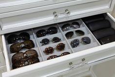 Storage for my sunglasses!