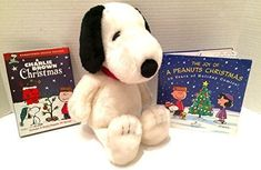 Peanuts Snoopy Holiday Christmas Gift Set Bundle Includes 16 Snoopy Plush The Joy of a Peanuts Chri @ niftywarehouse.com #NiftyWarehouse #Peanuts #CharlieBrown #Comics #Gifts #Products