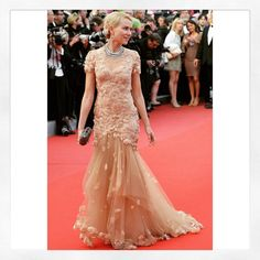 Throwback to Naomi Watts wearing #Marchesa #Fw12 at the Cannes Film festival 2012