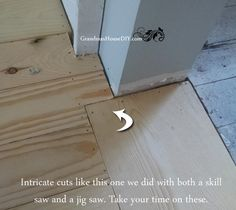 DIY Cheap Make Your Own Solid Wood Floors For A Fraction Of The Cost  @GrandmasHousDIY