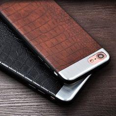 Fancy   Crocodile Plus Aluminium iPhone Case