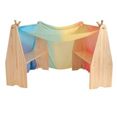 Waldorf Wooden Playstand with Canopy | Play Stands with Arches ...