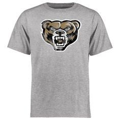 Oakland Golden Grizzlies Big & Tall Classic Primary T-Shirt - Ash - $24.99