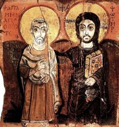ANONYME,7,EGY,CHRIST AND THE ABBOT MENA ,SINAI.jpg (657×700)