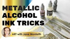 Metallic Alcohol Ink Tricks