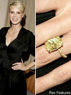 Heidi Klum Engagement Ring