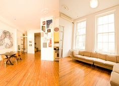 New York City - Soho/Nolita Loft.  1200 sq. ft. modern decor artists loft with 12 foot ceilings and air conditioning. The loft is in the back of the building so it's very quiet. Master bedroom with queen size bed. Kids room with twin loft bed and twin sofa bed. Den/office with queen size sofa bed.   solaennuevayork.com