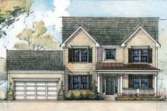 Introducing The Lexington. The Lexington offers a traditional center hall Colonial with nine-foot first floor ceilings designed to meet all the demands of today's homeowner.
