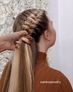 Easy Hairstyles For Long Hair, Winter Hairstyles, Braids For Long Hair, Girl Hairstyles, Halloween Hairstyles, Braided Hairstyles Tutorials, Latest Hairstyles, Pirate Hairstyles, French Plait Hairstyles