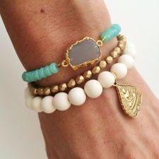 Oceanic Stone Bracelet