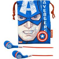 Captain America earphones. For when you're jogging and Steve Rogers keeps passing you. $15