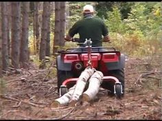 SkidMate MK2™ Log Skidding Arch for Your ATV   Portable Sawmills & Forestry Equipment - Norwood Sawmills