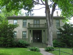 Warden's House Museum, built in 1853 as the residence of the Minnesota Territorial Prison warden, Stillwater, MN.