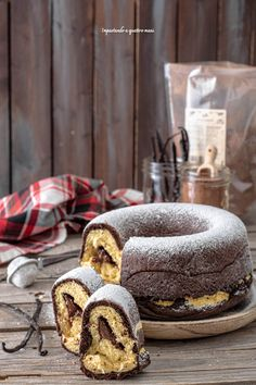 Mini Desserts, Plated Desserts, Bread And Pastries, Beignets, Cookbook Recipes, Dessert Recipes, Cake Recipes, Cupcakes, Cupcake Cakes