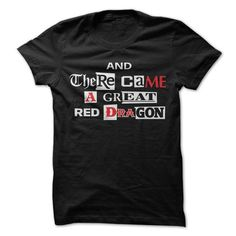 Awesome Tee Great Red Dragon T-Shirts