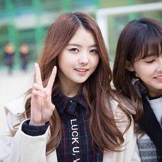 Im nayoung hwaiting! Kpop Girl Groups, Kpop Girls, Ioi Nayoung, Pledis Girlz, Korean Wave, G Friend, Produce 101, Girl Day, Actresses