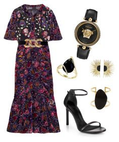 Designer Clothes, Shoes & Bags for Women Anna Sui, Effy Jewelry, Stuart Weitzman, Versace, Shoe Bag, Polyvore, Stuff To Buy, Shopping, Accessories