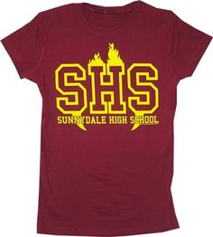 Sunnydale High School from Buffy the vampire slayer OldSchoolTees.com