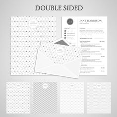 Free Templates For Letters Beauteous 9 Free Résumé Templates That Will Get You Noticed  Pinterest .