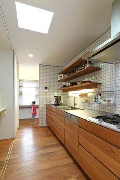 OH House, Niigata, 2013 - Takeru Shoji Architects #kitchen