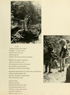 Athena yearbook, 1970. The Art Park. :: Ohio University Archives