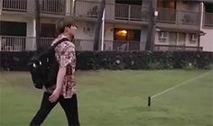 Kookie, the unlucky boy in Hawaii hahaha as ironic as that sounds. Just roll with the punches