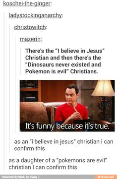 "It's not even a lie. As an ""I live Jesus"" Christian, I can confirm"