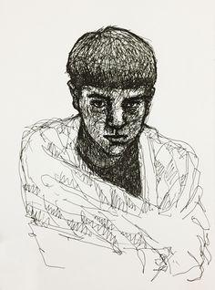 #art #portrait #autoportrait #ukraineart #pen