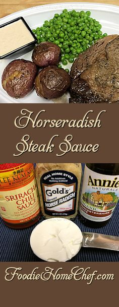 Horseradish Steak Sauce - A chef at a posh country club buffet gave me the ingredients for this terrific steak sauce. I usually serve this with steak or prime rib, but you can also use it to add a kick to other food items. --------- #Food #Cooking #Recipes #Recipe #Cuisine #GreatFood #HomeCooking #SteakSauce #Condiments #CondimentRecipes #Steak #Meat #Sauce #SauceRecipes