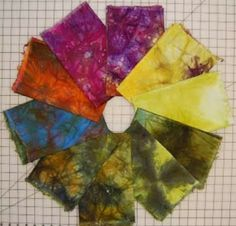 The Best Free Crafts Articles: One Bucket Fabric Dyeing Free Tutorial By Terri Stegmiller of StegArt