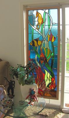 stained glass from a flea market | Flickr - Photo Sharing!