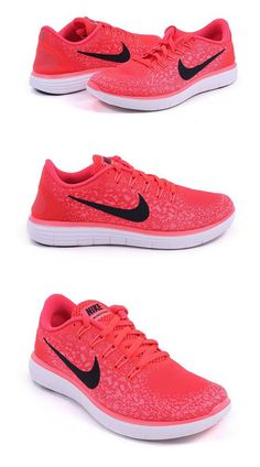 $215.99 - Nike Womens Free RN Distance - Bright Crimson/Black-Hyper Orange-White - 7.0 #shoes #nike #2016