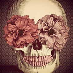 I love all things skull related and really dig flowers. I love this combination of the both, it just grabbed me as soon as I saw it. #SWSHAREYOURLIFE