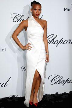 La cantante Cassie Ventura en Cannes 2012