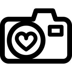 Camera Clip Art, Camera Icon, Fox Coloring Page, Coloring Pages, Mini Drawings, Easy Drawings, Silhouette Cameo, Cactus Drawing, Everyday Prayers