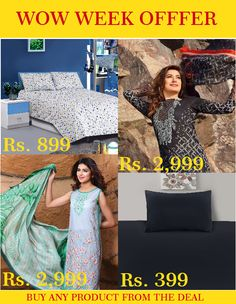 Grab your one from the wonderful deal we're offering for the whole week. Huge discount for limited time. Shop Now:https://goo.gl/OItOKS #khas #deal #weekly #bedding #lawn