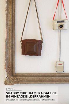 Shabby chic: Kamera Galerie im Vintage Bilderrahmen   paulsvera