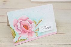 Wplus9 Design Clips: Distress Ink Watercolor Part 2