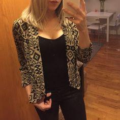 Wearever Jackets & Coats - Aztec Print Blazer