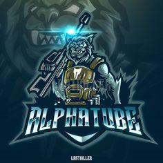 Greek Titans, Dog Background, Game Logo Design, Esports Logo, Great Logos, Iconic Characters, Logo Sticker, Printing Labels, Art Logo