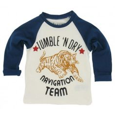 Tumble n Dry baby - Longsleeve Eloy steel blue