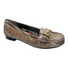 Women's Ros Hommerson Regina Loafer Snake Print (US Women's 6 SS (Extra Narrow))