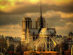 ile de la Cité, Notre-Dame Cathedral, Paris IV