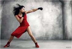 One of our favorite shots of Marlen Esparza wearing the Nike Machomai in Red!  You can learn more about these shoes at http://www.athleteps.com/2010/nike-boxing/