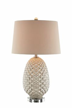 """Carlton 29"""" H Table Lamp with Empire Shade"""