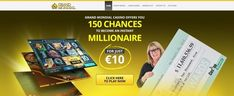 150 Chances to become an instant #Millionaire with a little deposit of  ONLY €/$/£ 10 at Grand Mondial #Casino