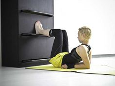 Contemporary Home Fitness Unit for a Healthy Body and Mind