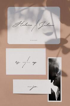 """Een set trouwkaarten die verschillende kaartjes bevat:  1- De trouwkaart: voor een mooie aankondiging van het huwelijk 2- Het inlegkaartje: voor de daggasten die op deze manier geïnformeerd worden over het programma van de dag 3- De RSVP-kaart: zodat je weet wie er op je bruiloft kan komen 4- De fotostrip in boekenlegger formaat: voor een origineel vleugje aan je uitnodiging 5- De """"Belly band"""": om het geheel bij elkaar te houden.  Deze set geeft je uitnodiging net dat extra's. Wedding Themes, Wedding Cards, Rose Bouquet, Garden Wedding, Wedding Planner, Cards Against Humanity, Invitations, Graphic Design, Benedict Cumberbatch"""