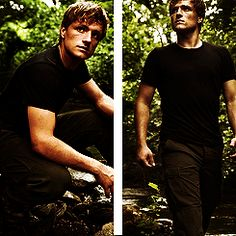 Peeta...as far as male characters go, he is starting to rank up there with Mr. Darcy, Captain Wentworth, Edward, Atticus Finch