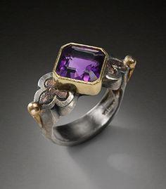Amethyst Principessa Ring